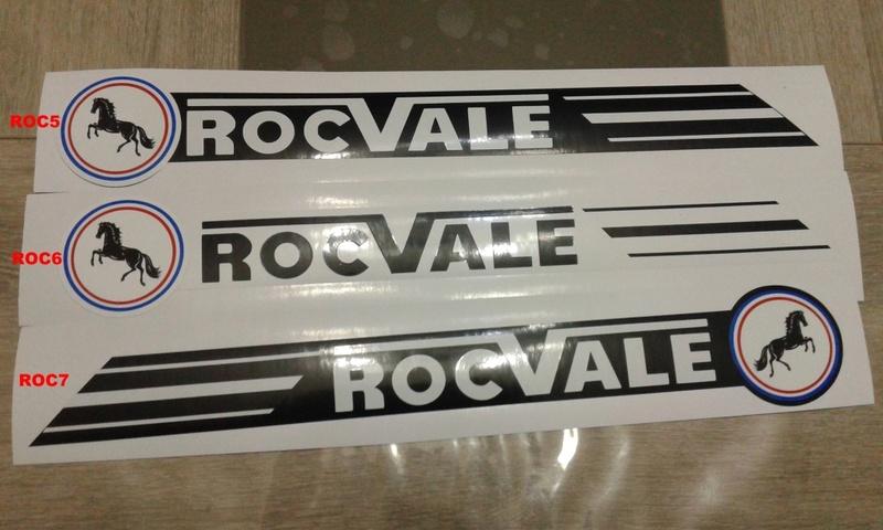 NEW ADHESIF / STICKERS / AUTOCOLLANT FLANDRIA MALAGUTI ROCVALE ETC.. Roc_ma10