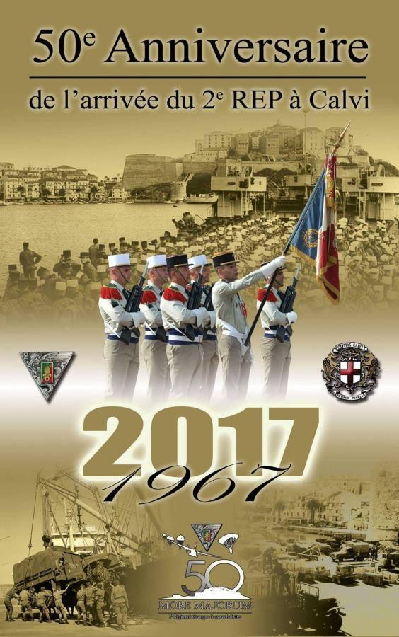 Cinquantième anniversaire de l'installation du REP à Calvi 16998810