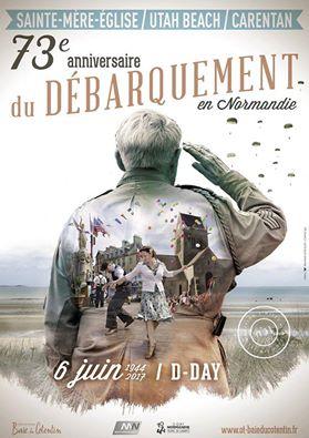 73ème anniversaire du Débarquement en Normandie 17200910