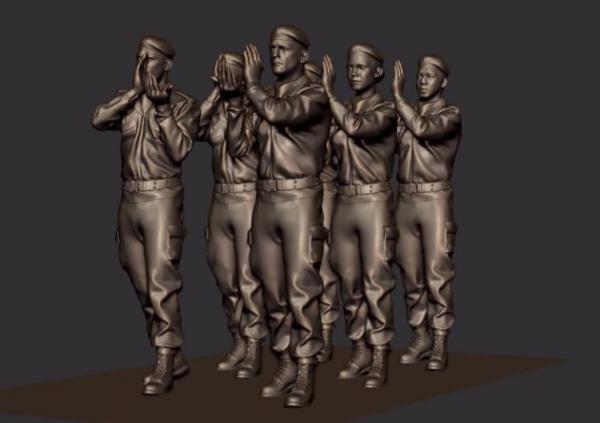 Cérémonie de lancement du mémorial en hommage aux militaires français morts en opérations extérieures. 22242210