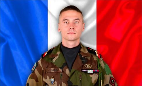 Le caporal-chef Julien Barbé du 6ème Régiment du génie d'Angers tué au combat au Mali   26311013