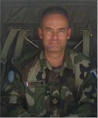 """Christian VENARD aumônier parachutiste: """"Je peux tutoyer tout le monde, du général au simple soldat"""" 27107210"""