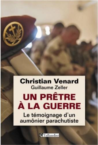 """Christian VENARD aumônier parachutiste: """"Je peux tutoyer tout le monde, du général au simple soldat"""" 89900910"""