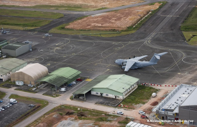 La première mission opérationnelle de l'A400M A-400m10
