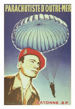 Affiche parachutistes coloniaux Affich10