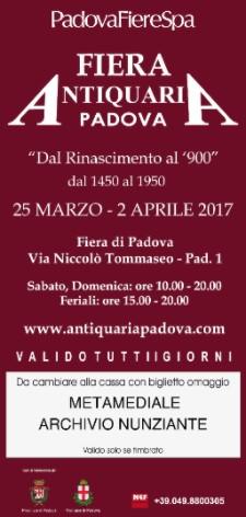Nunziante a Fiera Antiquaria, Padova 25/03- 02/04 2017 15891710