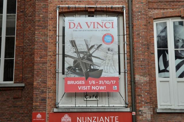 """01 Giugno- 31 Ottobre 2017 Nunziante """"Sur les traces de Léonard De Vinci"""", Bruges _0010713"""