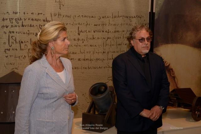 Inaugurazione mostra di Bruges con la presenza eccezionale della Principessa del Belgio _dsc0813