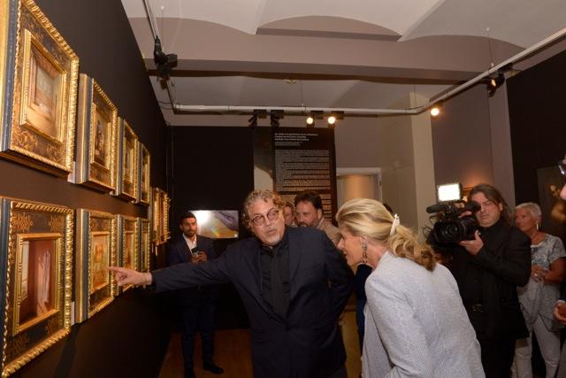 Inaugurazione mostra di Bruges con la presenza eccezionale della Principessa del Belgio _dsc0814