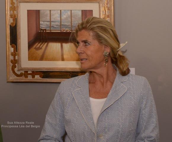 Inaugurazione mostra di Bruges con la presenza eccezionale della Principessa del Belgio _dsc0911