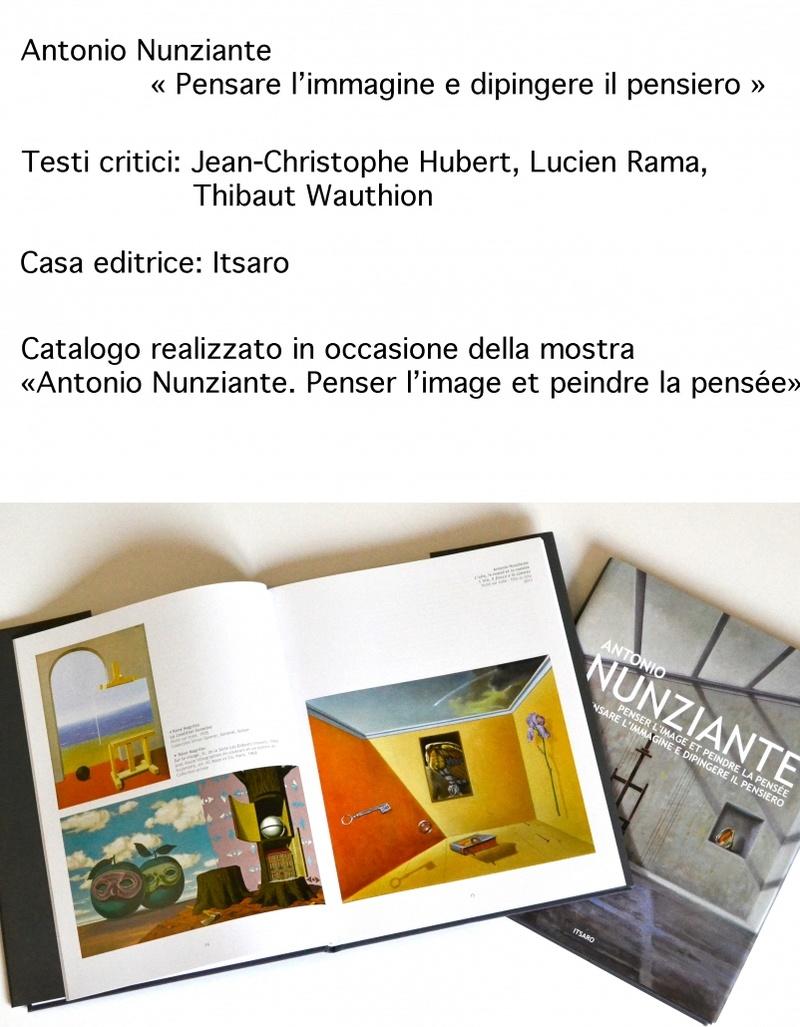 """""""Penser l'image et peindre la pensée"""" Collettiva Nunziante, Dalí, Magritte, Chagall, Delvaux 2017 B-802x10"""