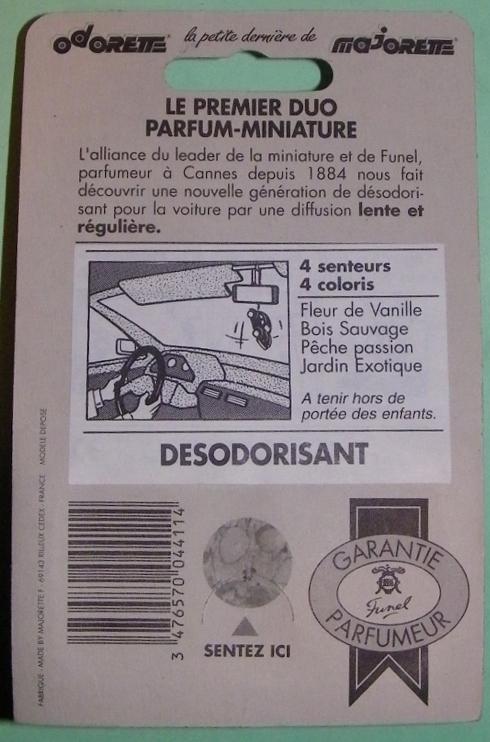 Odorette, les majorette parfumées 101e0011