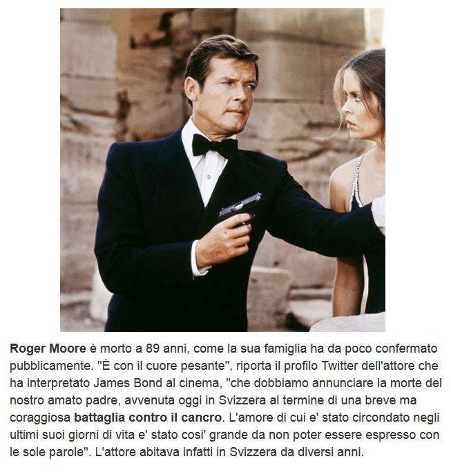 Addio a Roger Moore Roger10
