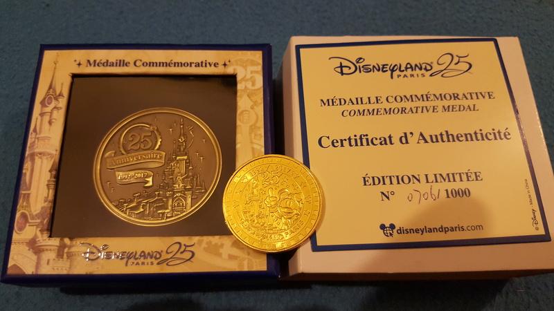 Les pièces de monnaie de Disneyland Paris - Page 25 20170211