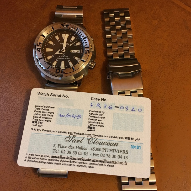 [A vendre] Seiko Baby Tuna srp637k1+ strap code super engineer II  Img_1612