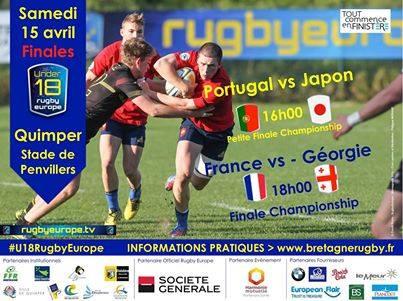 Finale coupe d'europe U18 France Géorgie le 15/04 17883610