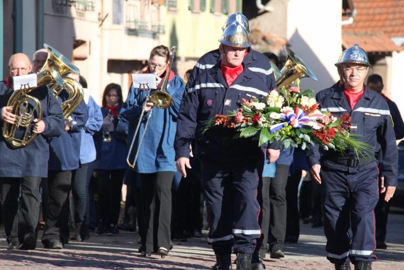 Célébration de l'armistice à Wangen le lundi 11 novembre 2013 11_nov13