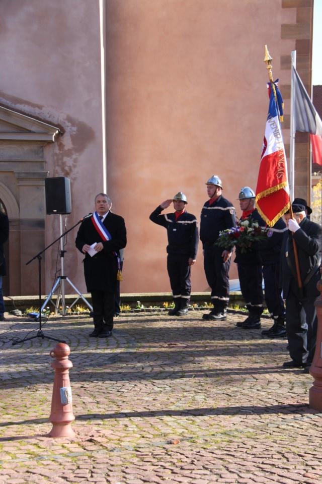 Célébration de l'armistice à Wangen le lundi 11 novembre 2013 11_nov19