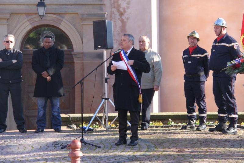 Célébration de l'armistice à Wangen le lundi 11 novembre 2013 11_nov20