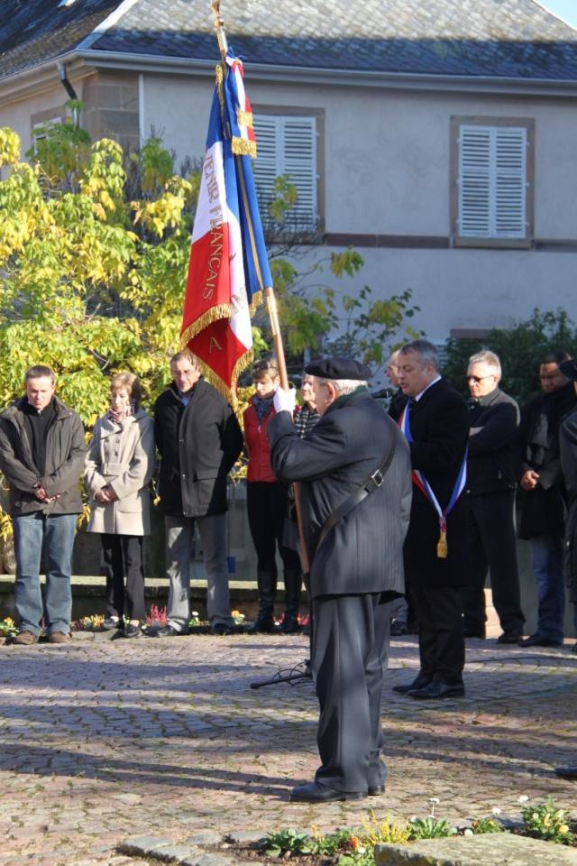 Célébration de l'armistice à Wangen le lundi 11 novembre 2013 11_nov22