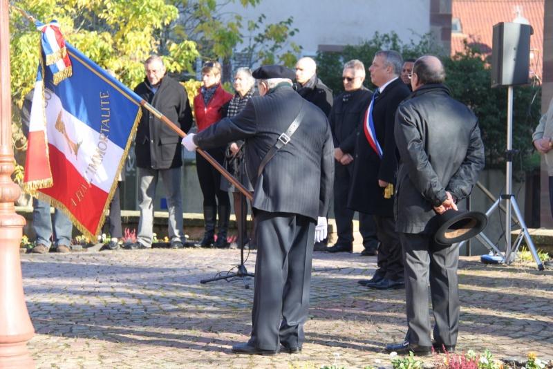 Célébration de l'armistice à Wangen le lundi 11 novembre 2013 11_nov24