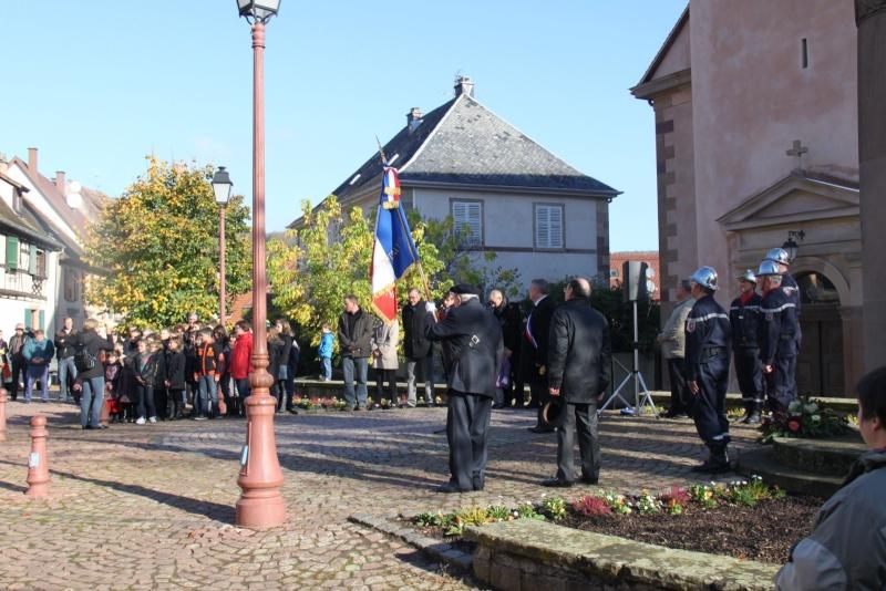 Célébration de l'armistice à Wangen le lundi 11 novembre 2013 11_nov27