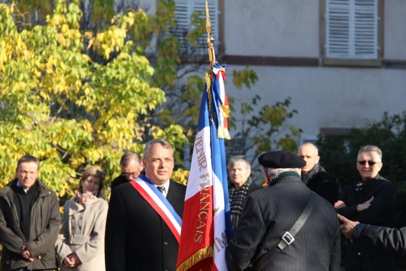 Célébration de l'armistice à Wangen le lundi 11 novembre 2013 11_nov28