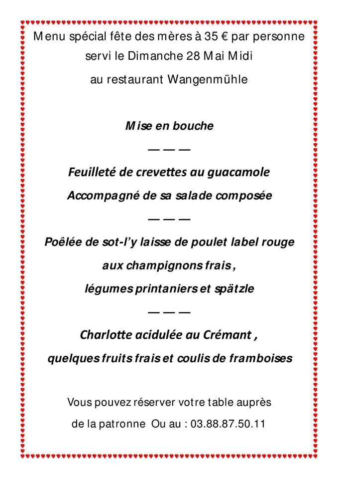 Le restaurant Wangenmühle - Page 7 18489510