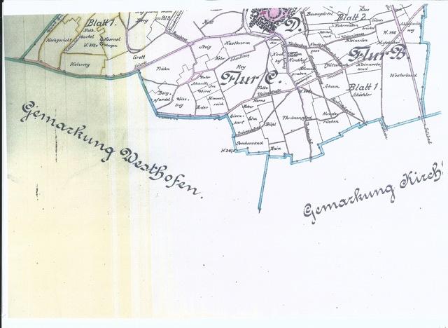 Les lieux-dits de Wangen Carte_11