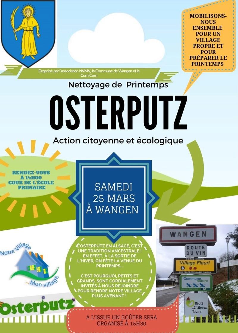 Osterputz à Wangen samedi 25 avril 2017 Nettoy10