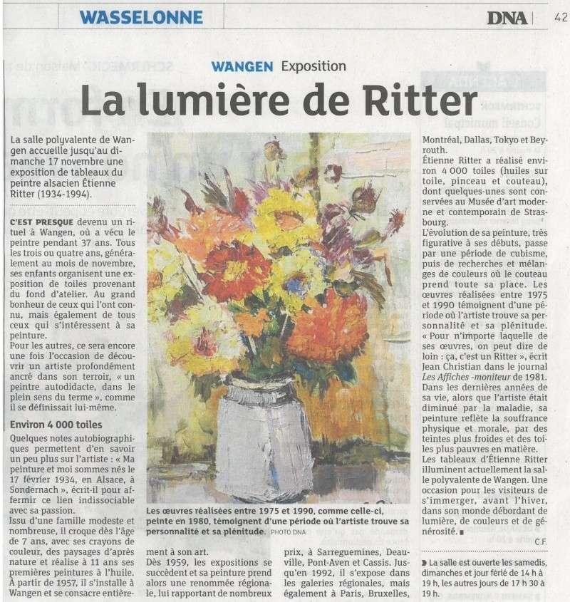 Etienne RITTER - Artiste peintre - Page 3 Talach10