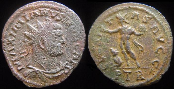 Aureliani pour Trèves de Dioclétien et de ses corégents  - Page 3 Galyre10