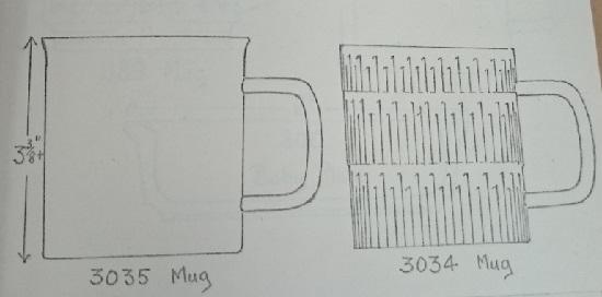 3034 Mug drawing 3035_310