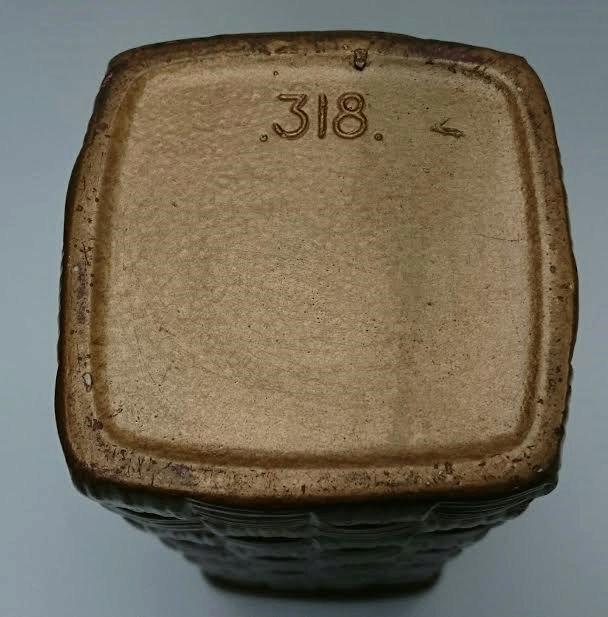 "318 Square Basket 8"" 318_ba10"