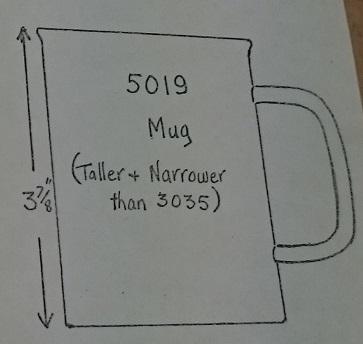 5019 Mug drawing  5019_b10