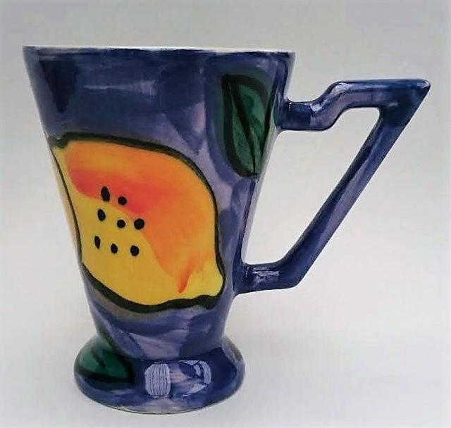 A Stage Artware Hand Crafted Lemons mug .... Stage_10