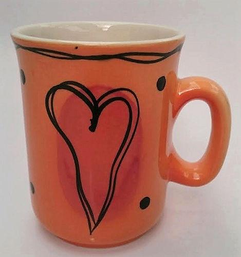 Ann Skelly Fez Orange mug Studio11
