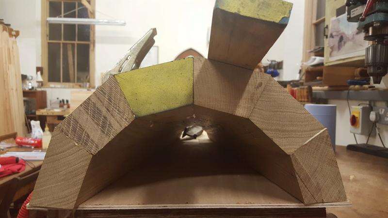 Fabrication d'un cul-de-lampe 20160711