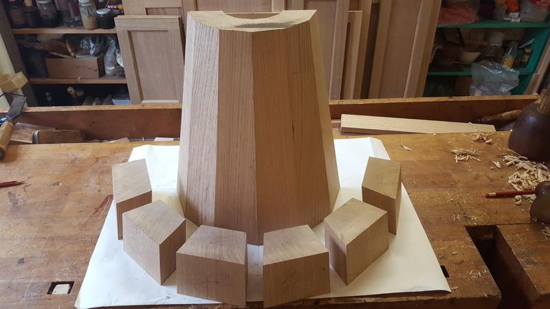 Fabrication d'un cul-de-lampe Cdl110