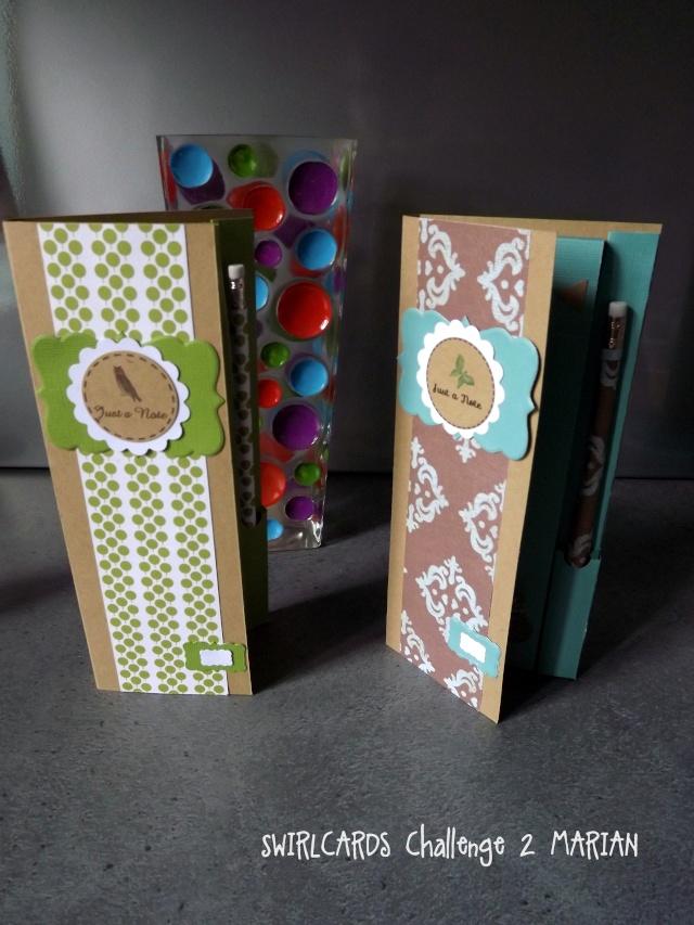 "Challenge ""Petits carnets""-gagnante Nanie bravo 0710"
