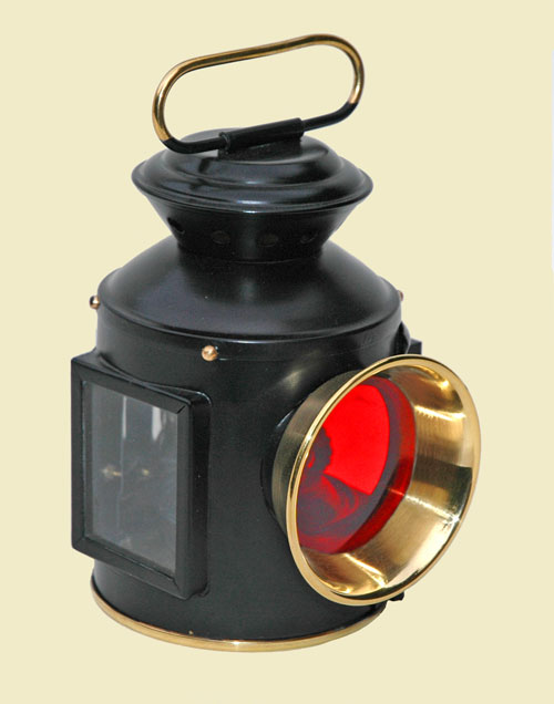 """4"""" scale Traction Engine Lamps for sale (NOW SOLD) Rear-t10"""
