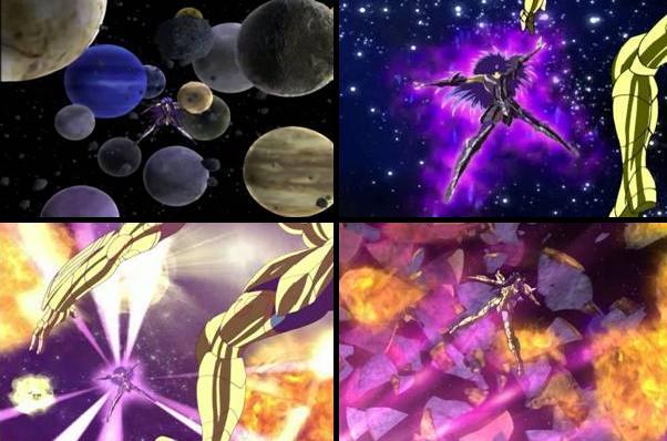 Galaxian Explosion(Explosión de Galaxias o Explosión Galáctica ) Galaxi10