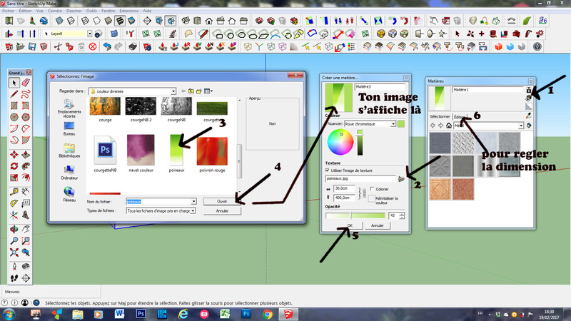 Sketchup texture Captur10