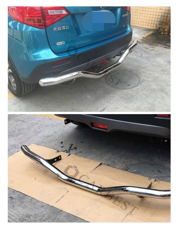 CHINESE FRONT AND REAR STAINLESS STEEL BUMPER BARS 99910