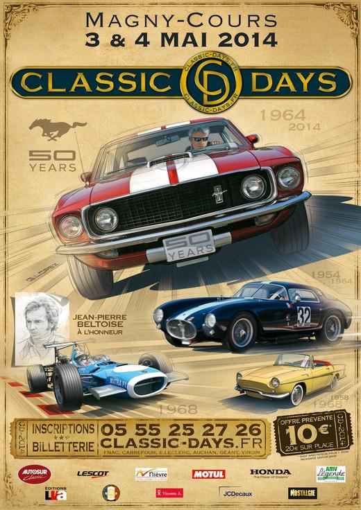 CLASSIC DAYS Affich10