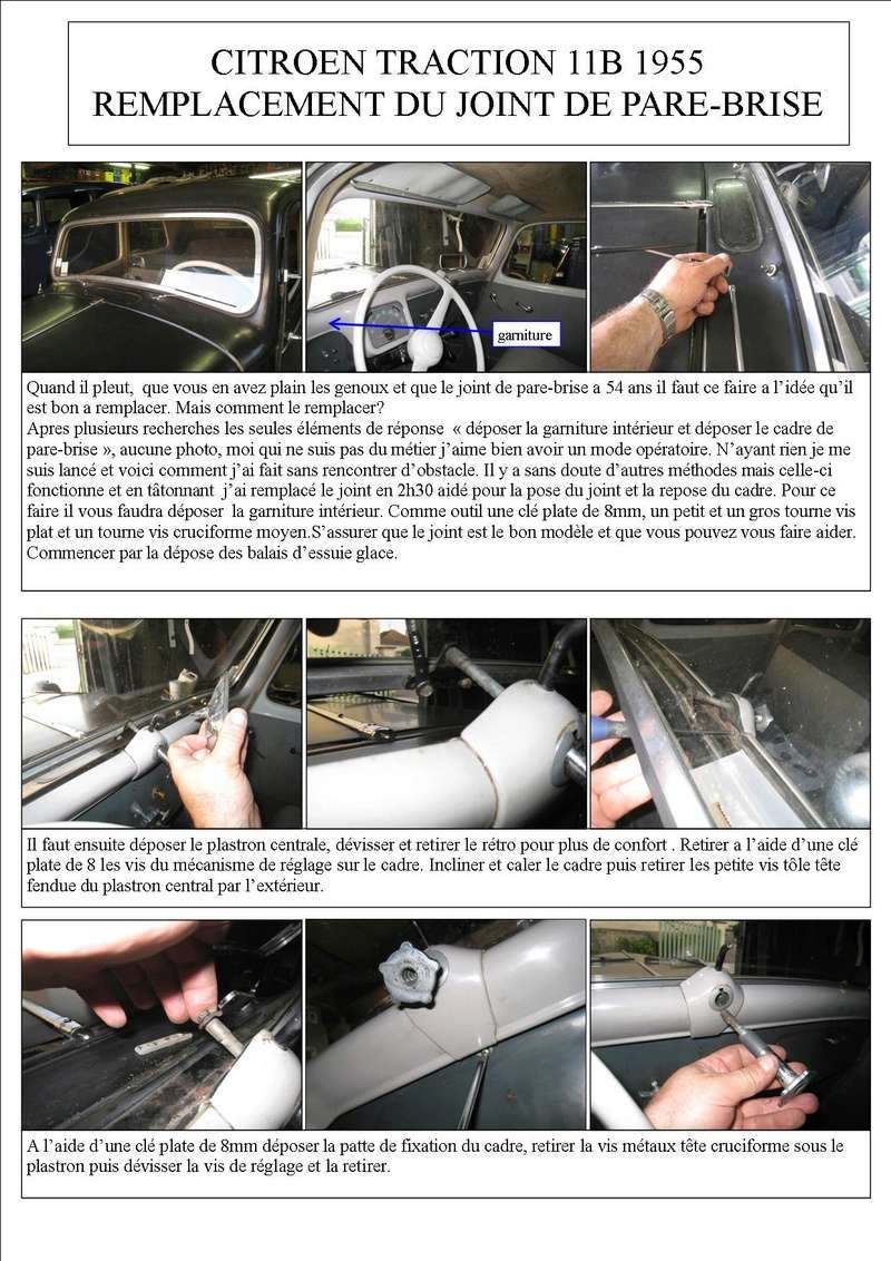JOINT DE PARE BRISE TRACTION Page110