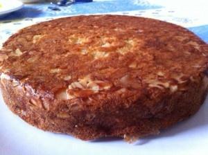 Gâteau aux pommes, amandes et beurre salé Untitl11