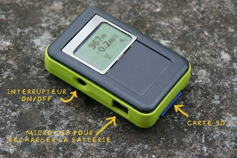 Vario GPS à base d'Arduino Monvar11