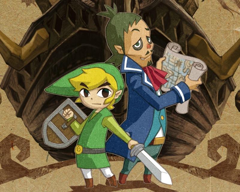 Wallpaper The legende of Zelda The_le10