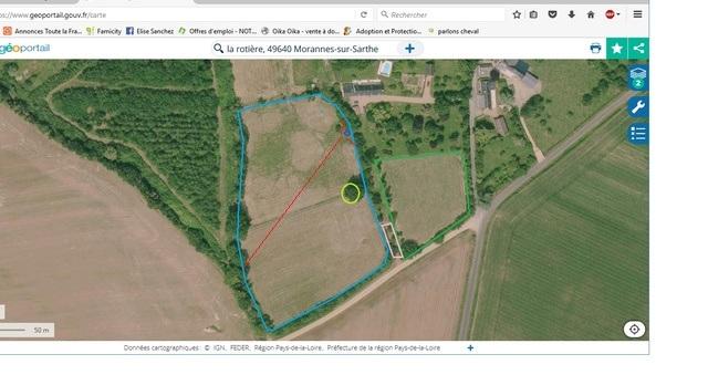 Journal des prairies 2.5 ha : photos du drone + video Parcel10